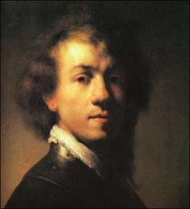 Rembrandt Van Rijn Self Portrait