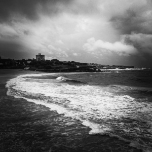 Stormy Weather at Coogee © Ashley Golsby 2013.