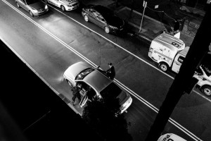 Police Operation Marrickville © Ashley Golsby 2013.