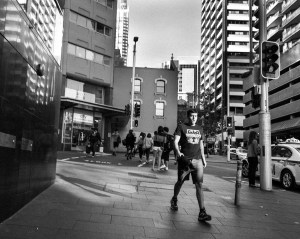 Street Sydney © Ashley Golsby 2014.