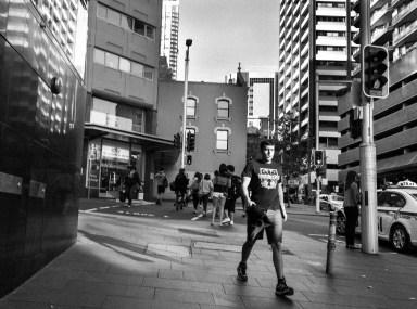 Street Sydney © Ashley Golsby 2014.