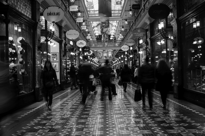 Strand arcade sydney photo ideation