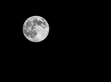 Super Moon © Ashley Golsby 2014.